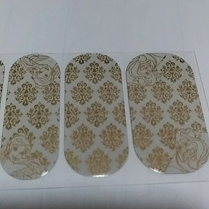 Jamberry Makeup - Jamberry nail wraps Disney Beauty and the beast